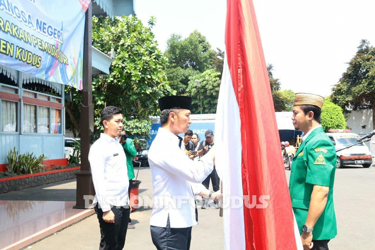 Buka Kirab Satu Negeri, Wabup : GP Ansor Tunjukkan Semangat Pluralisme