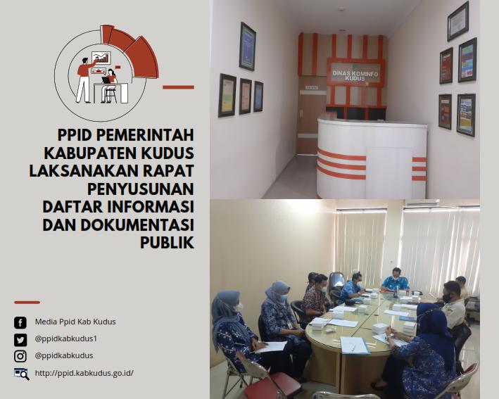 Rapat Penyusuan Daftar Informasi dan Dokumentasi Publik Tahun 2021