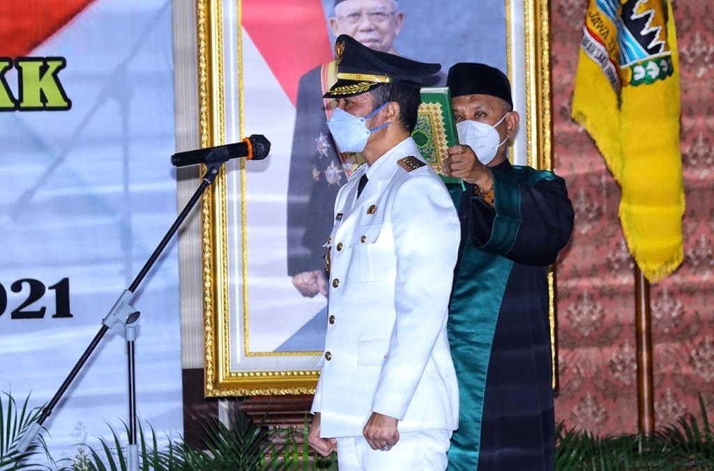 Resmi Dilantik, Bupati Kudus Hartopo Siap Laksanakan Reformasi Birokrasi